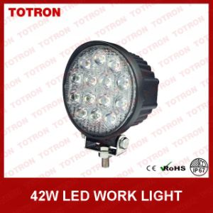 Totron Bright LED Work Light 42W 2520lm IP67 Spot Beam