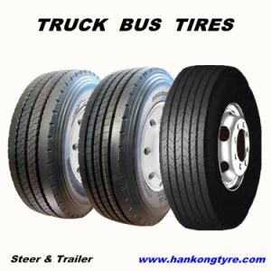 Steer Trailer Tires Radial Tire Truck Tires pictures & photos