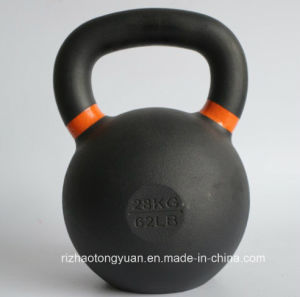 Powder Precision Cast Iron Kettlebell pictures & photos
