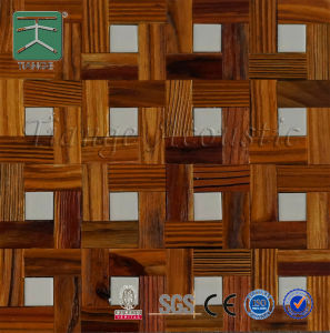 Interior Decorative Solid Wood Wall 3D Panel (300*300)