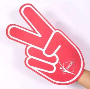 Customized Promotional EVA Foam Hand for Fan′s Gift pictures & photos