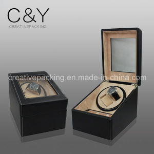 Luxury Black Leather Watch Winder Box pictures & photos