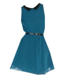 A Line Dress with Belt