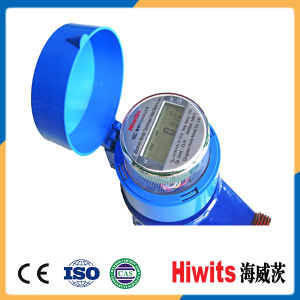 Hiwits Remote Electronic Non-Magnetic Residential Water Meters with Factory Price pictures & photos