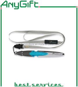 Ballpoint Pen with Lanyard with Customized Color and Logo pictures & photos