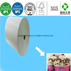 Single Side PE Coated Paper for Baskin Robbins Ice Cream Cup pictures & photos