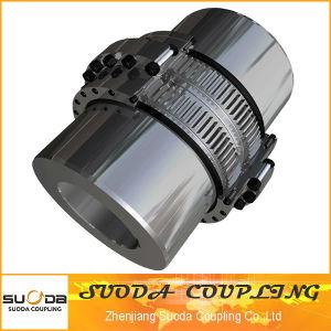 Suoda Gear Coupling Large Size Drum Gear Coupling Large Transmission Torque Professional Coupling Manufacturer Gazb Type pictures & photos