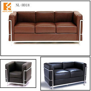 Newland Furniture, Classic Leather Sofa (NL-H018 (LC2))