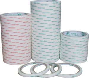 Tissue Double Side Tape with Solvent Base pictures & photos