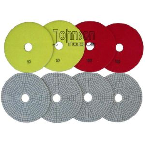 150mm Diamond White Polishing Pad pictures & photos