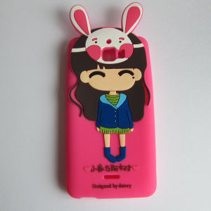 Custom Fashion 100% Silicone Mobile Phone Case pictures & photos