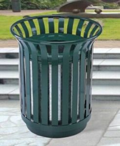 Flower Basket Type Outdoor Rubbish Barrel (GPX-51) pictures & photos