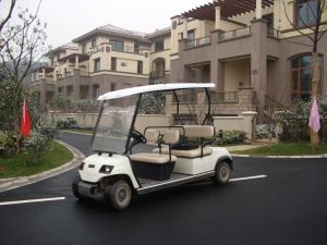 Battery 4 Seaters Go Cart pictures & photos