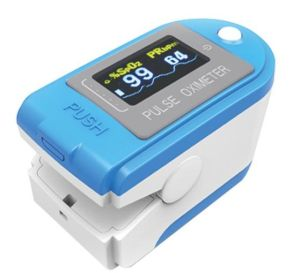 Bluetooth Oximeter with Pedometer, Clock Function Pulse Oximeter pictures & photos