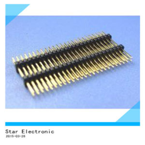 PCB Double Row Male Female Pin Header pictures & photos