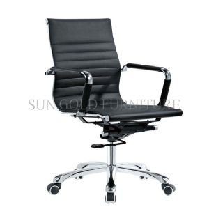Modern Low Back PU Leather Office Chair (SZ-OC027) pictures & photos