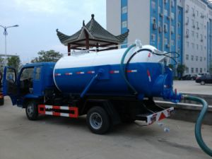 Dongfeng Chassis 5000L Sewage Truck 5m3 pictures & photos