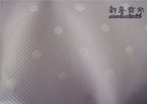 Polyester Fake Memory Fabric with Embossing pictures & photos