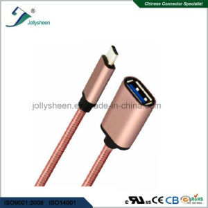 Flexible Type C USB OTG and USB3.0 Af for One Plus 2 Cable Data pictures & photos