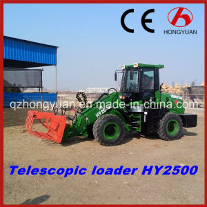 2017 New Telescopic Loader Hy2500 with 80HP Engine pictures & photos