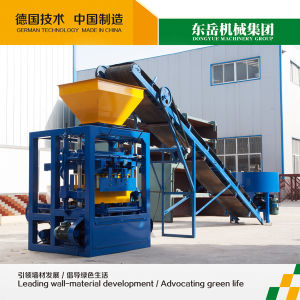 Cement Blocks Hand Press Machine|Cement Brick Making for House|Cement Brick Machinery Qt4-26 (DONGYUE BRAND) pictures & photos