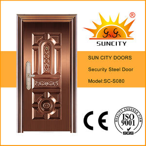 Sc-S080 Top Sales Entry Copper Security Doors Price pictures & photos