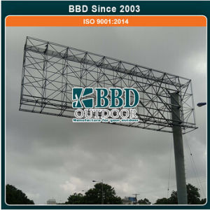 Custom Outdoor Advertising Steel Structure Sign Pole