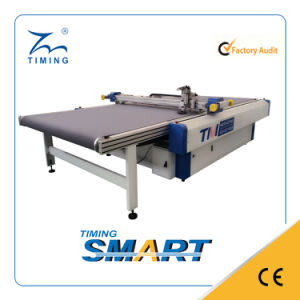 Single Layer Industrial Fabric Cutting Machine Fully Automatic Garment/Textile/Fabric Cutting Machine pictures & photos