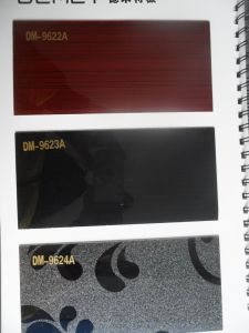 High Glossy PVC Sheets for Kitchen (customize) pictures & photos