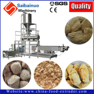 Tsp Tvp Soya Chunk Making Machine pictures & photos