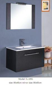 Sanitary Ware Modern Bathroom Vanity with Veneer pictures & photos
