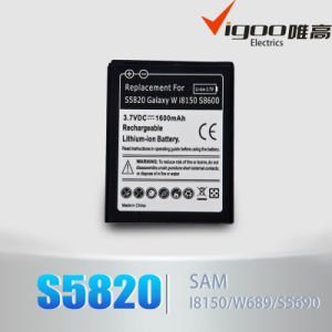 High Capacity Battery for Samsung S5820 pictures & photos