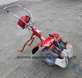 2 Row Mini Gasoline Paddy Field Weeder pictures & photos