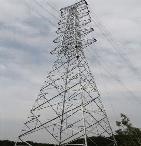 800kv Transmission Angle Steel Tower