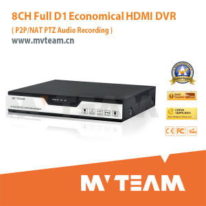 8CH Full D1 H 264 Standalone DVR with P2p/Nat (MVT-6308H) pictures & photos