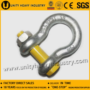 U. S Type Drop Forged G 2130 Bolt Safety Anchor Shackle pictures & photos