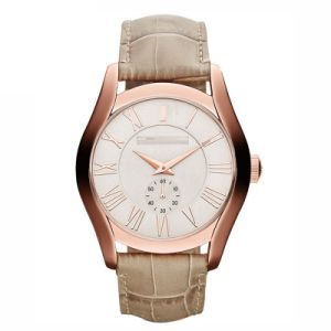 Fashion Brown Leather Quartz Watch pictures & photos