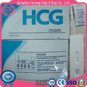 CE Approved HCG Pregnancy Test Cassette pictures & photos