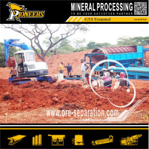 Mini Mineral Processing Ore Recovery Mobile Trommel Gold Wash Machine