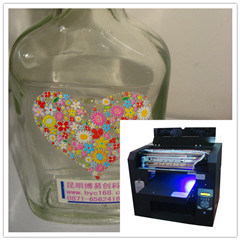 A3 Format Low Cost Bottle UV Printer pictures & photos