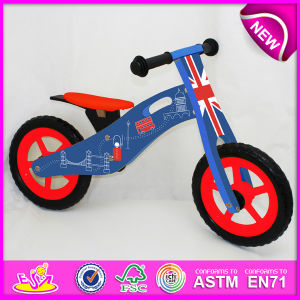 Hot Sale High Quality Wooden Bike, Popular Wooden Balance Bike, New Fashion Kids Bike W16c087 pictures & photos
