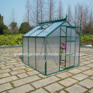 7′ Wide UV Polycarbonate Aluminium Garden Greenhouse (HB7H series) pictures & photos