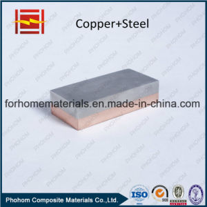 Bimetallic Copper/Steel Clad Sheet pictures & photos