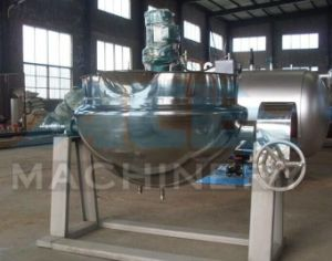 Milk Boiler Kettle Cooking Jacketed Steam Kettle Pan Pot (ACE-JCG-Y3) pictures & photos