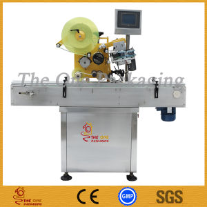 Hot Sale Flat Labeling Machine/ Top Labeler pictures & photos