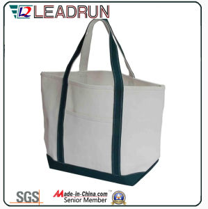 Backpack Nonwoven Shopping Bag Leather Cotton Canvas Hand Shopping Bag (X032) pictures & photos