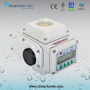 Kt-a Modulating Type Electric Actuator with LCD Display From China Manufacturer pictures & photos