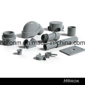 PVC-U ASTM Sch40 Conduit for Electrical Installation Male Terminal Adapter pictures & photos