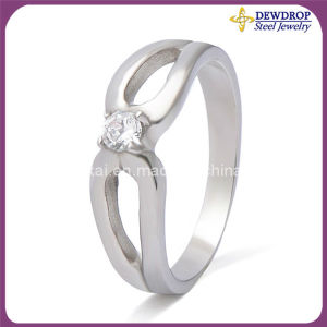 Fashion Jewelry 316 L Stainless Steel Rings Diamond Rings