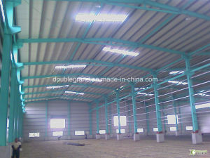Prefabricated Light Steel Structure Workshop/Factory (DG2-007) pictures & photos
